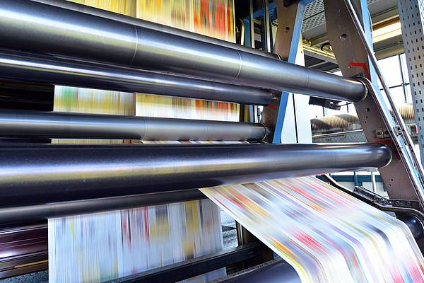 Flexible packaging printing