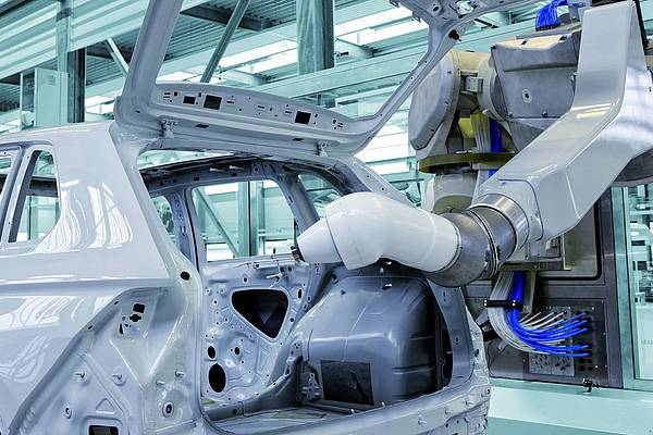 Dürr's Paint Application stands for highest requirements of quality and efficiency